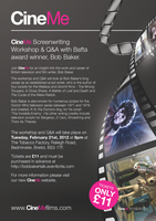CineMe Screenwriting Workshop & Q&A with Bafta award...