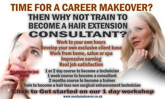Copy of 1 Day Hair Extension Workshop - Learn two...