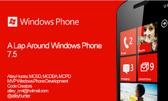 A Lap Around Windows Phone 7.5