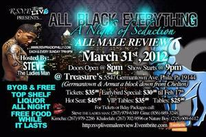 A NIGHT OF SEDUCTION... AN ALL BLACK AFFAIR MARCH 31ST
