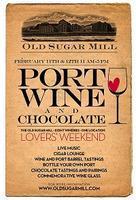Port, Wine & Chocolate Lovers Weekend