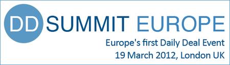 DD Summit Europe 2012, 19 March, London UK