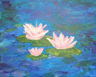 Water Lilies - Johnny Carino's 2-8-12
