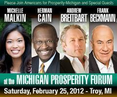 AFP MI:Michigan Prosperity Forum-Troy with Romney/...