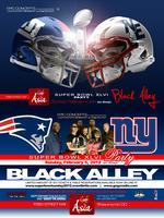 SUPER BOWL SUNDAY 2012: Feat BLACK ALLEY @ CAFE ASIA