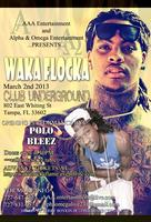 Waka Flocka Flame Performing Live