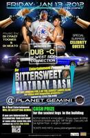 FRIDAY, January 13th, 2012 - DUB C of the WEST-SIDE...