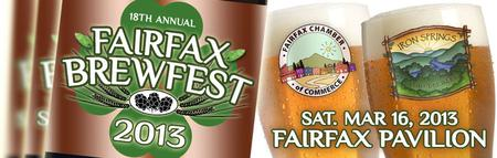 Fairfax Brewfest 2013 • 18th Annual • St. Patrick's Day...