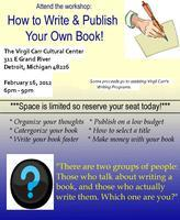 Write & Publish Your Own Book