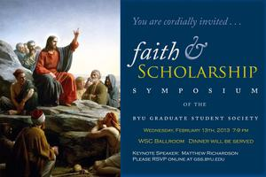 Faith and Scholarship Symposium