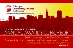 Episcopal Community Services Second Annual Awards Lunch...