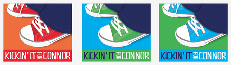 Kickin' It For Connor!