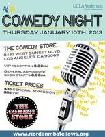 Riordan Programs Comedy Night 2013
