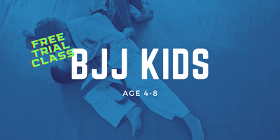 Brazilian Jiu-Jitsu Kids Age 4-8 Trial Class at Gracie...