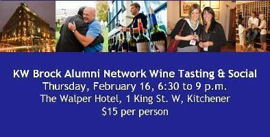 KW Brock Alumni Network - Wine Tasting & Social