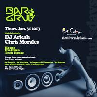 BarGruv Tonight inside Barcelona presents DJ ARKAH!
