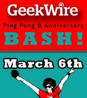 GeekWire Ping Pong & Anniversary Bash