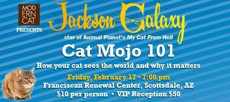 Jackson Galaxy Cat Mojo 101 Live in Scottsdale, AZ