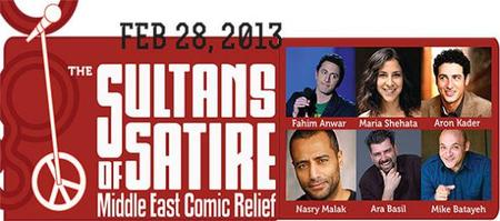 Sultans of Satire, Middle East Comic Relief!