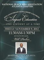 28th Anniversary NBMBAA Atlanta Annual Scholarship...