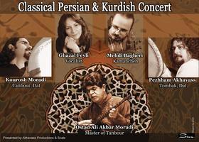Persian & Kurdish Music Concert with Ostad Ali Akbar...