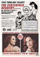 "Dr.Sketchy Philly & Celeste Giuliano present ""The..."