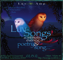 LuvSongs: an Intimate evening of poetry & song