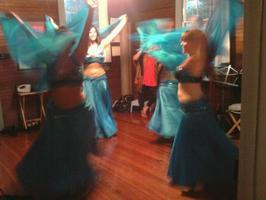 Belly Dance Session, February and March 2012