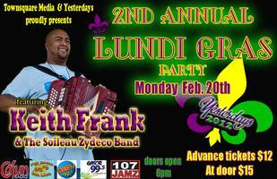2nd Annual Keith Frank Lundi Gras Party