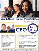 New CEO's in Training Webinar Series (February 9th -...
