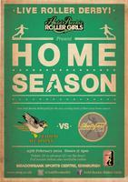 ARRG Home Season Bout 2: Skatefast Club v Leithal...
