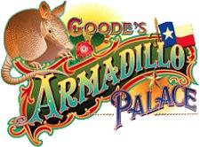 Goode's Armadillo Palace with the Houston Wave logo