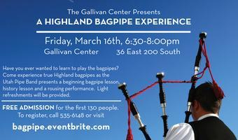 2012 Highland Bagpipe Experience