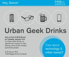 Urban Geek Drinks Detroit