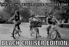 THE 21 CHALLENGE / / RIDE FOR FREEDOM
