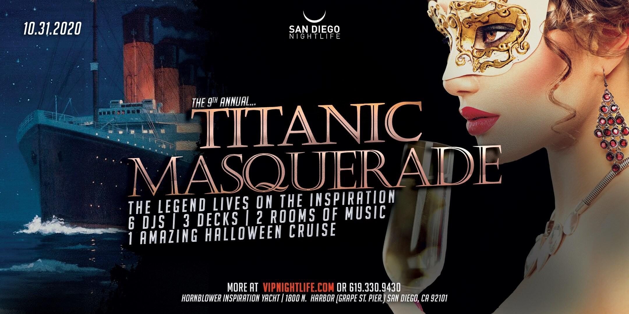 Halloween Cruise 2020 San Diego Pier Pressure San Diego Halloween Cruise   9th Annual Titanic