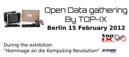 TOP-IX Open Data gathering @ Berlin