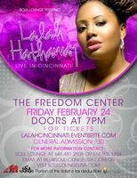 LALAH HATHAWAY Live in Cincinnati, OH at The Freedom...