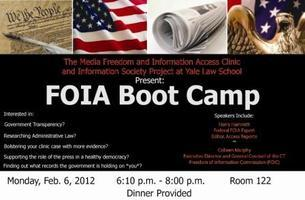 FOIA Boot Camp at Yale Law School