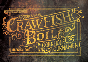 Crawfish and Cornhole