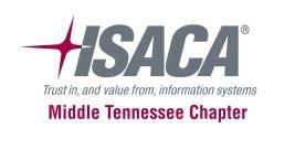 ISACA Training Day 2012
