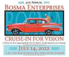 4th Annual Cruise-In for Vision Charity Car Show