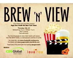 Brew n' View - Page One: Inside the New York Times