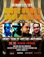2/25 WCS Events - Deep house w / KING BRITT and...