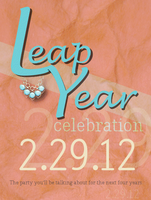 Mod Leap Year Celebration
