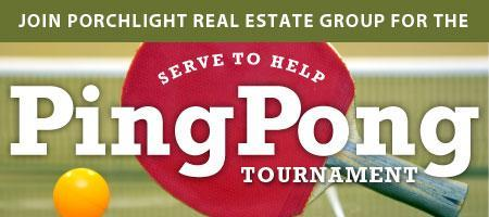 PorchLight's Serve to Help Ping Pong Tournament