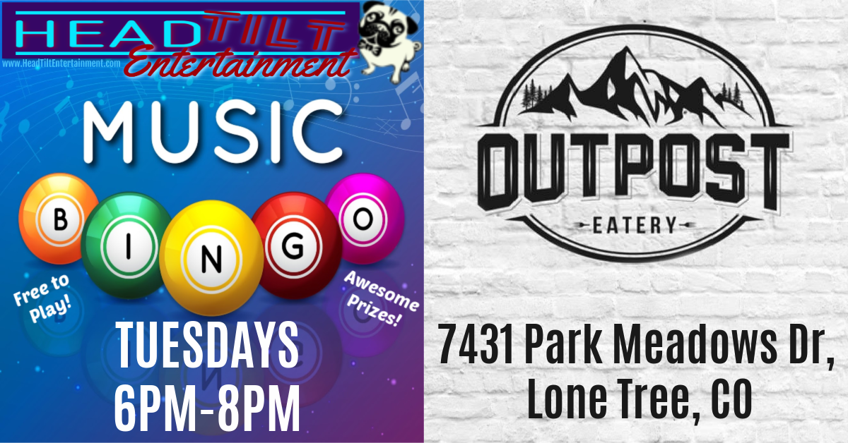 Music Bingo at Outpost Eatery!