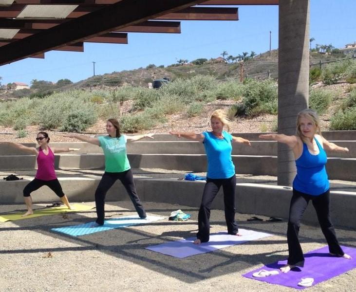 SDRVC's Yoga at the San Dieguito Lagoon