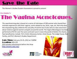 The Vagina Monologues at Florida International Universi...