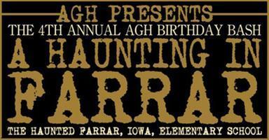 AGH PRESENTS: A HAUNTING IN FARRAR! THE 4TH ANNUAL AGH...